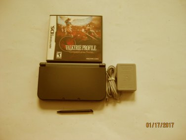 Nintendo New 3ds xl Black w Valkyrie Profile & More!!!