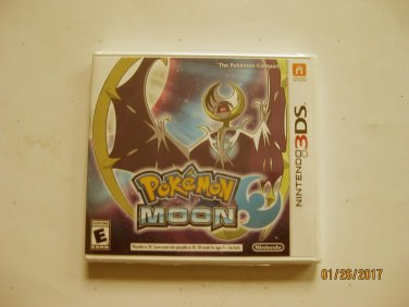 New Pokemon Moon (Nintendo 3DS)
