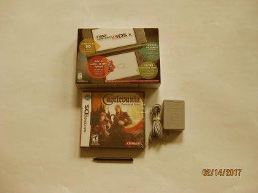 Nintendo New 3DS XL Black w Castlevania & More !!