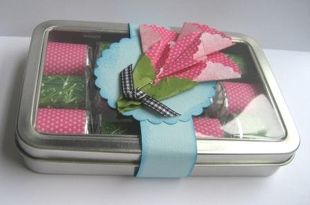 Mothers Day Decorated Hershey Nugget Tin