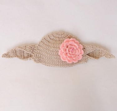 Dobby The House Elf Hat From Harry Potter - For Girl  Newborn -3 months