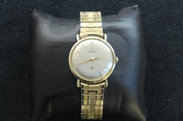 Hamilton �Masterpiece� 22 jewel, circa 1950 gold filled men�s watch (Wrist Watches)