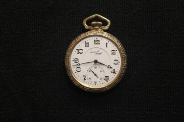 Illinois Watch Co. 21 jewel, 16 size, 1926 �Santa Fe Special� Pocket Watch (Pocket Watches)