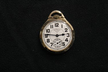 Elgin National Watch Co. 21 jewel, 16 size, �B.W. Raymond� Pocket Watch (Pocket Watches)