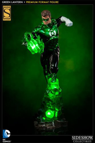 Green Lantern Premium Format Figure Statue Sideshow Exclusive