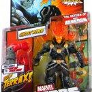 Ghost Rider Orange/ Red Head Variant Marvel Legends (Terrax Build-A-Figure) Action Figure