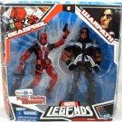 Deadpool & Warpath Marvel Legends Action Figure