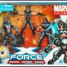 X-Force Deadpool, Warpath & Wolverine Marvel Universe Action Figure