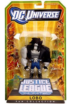 Lobo DC Universe Justice League Unlimited JLU Action Figure