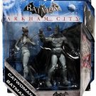 Batman & Catwoman Black & White Variant Arkham City DC Batman Legacy Edition Action Figure