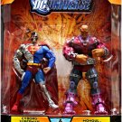 Cyborg Superman & Mongul DC Universe Classics Super Enemies 2 pack Action Figure
