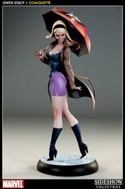 Gwen Stacy Polystone Statue Sideshow Collectibles