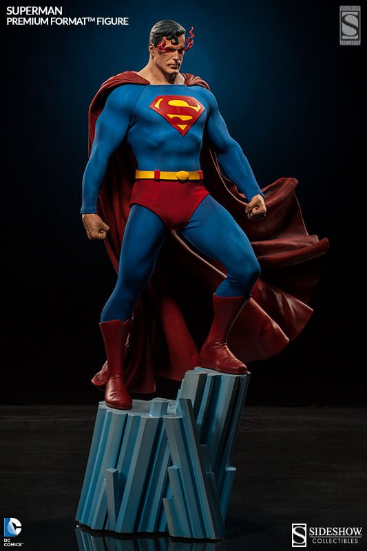 Superman Premium Format Statue Sideshow Exclusive