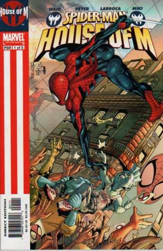 Spider-man House of M #1 of 5 Mark Waid