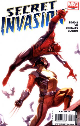 Secret Invasion #7 Brian Michael Bendis