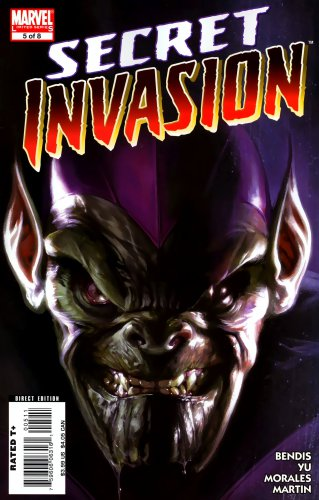 Secret Invasion #5 Brian Michael Bendis