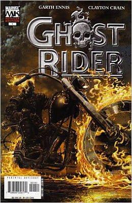Ghost Rider #1 Retailer Edition Garth Ennis