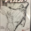 The Flash # 231 Sketch Cover Promotional Mark Waid