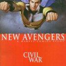 The New Avengers #24 Civil War Brian Michael Bendis