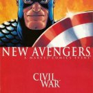 The New Avengers #21 Civil War Brian Michael Bendis
