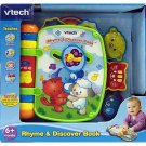 VTech - Rhyme and Discover Book with 3 light-up character buttons