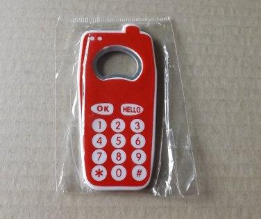 MOBILE PHONE FRIDGE MAGNET BOTTLE OPENER