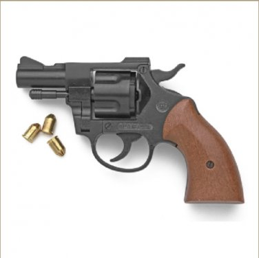 Blued Finish Olympic 9mm Blank Firing Revolver