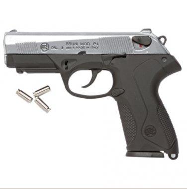 Replica P4 Automatic Blank Firing Gun Nickel Finish