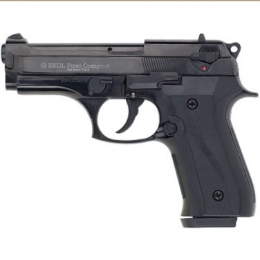 Firat Compac 92 Blank Firing Replica Gun Black Finish