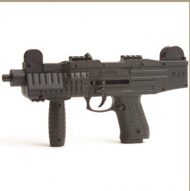 Asi Fully Automatic Blank Firing Pistol Black Finish