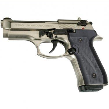 Jackal Compact Full Automatic Blank Firing Gun Satin Finish