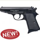 Majarov Semi Automatic Blank Firing Pistol Matte Black Finish