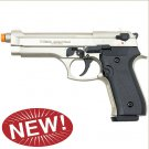 Jackal Full Automatic Front Firing Blank Gun Satin Finish