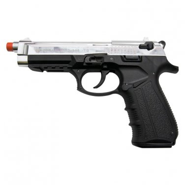 Zoraki Front Firing M918 Chrome Finish 9mm Blank Gun Pistol