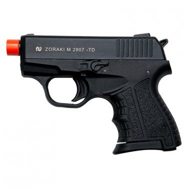 Zoraki M2807 Black Finish - 8MM Front Firing Blank Pistol Semi-Auto Gun