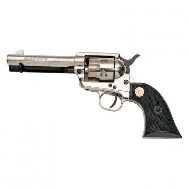 Kimar Old West M1873 9mm Nickel Finish Fast Draw Blank Firing Revolver