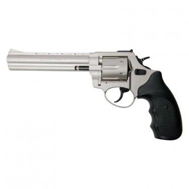 "Stalker R1 6"" Barrel Revolver Satin Finish - 9mm Zoraki Blank Firing Gun"