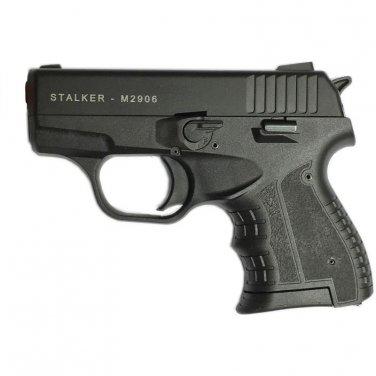 Stalker M2906 Black Finish - 9mm Blank Firing Replica Zoraki Gun