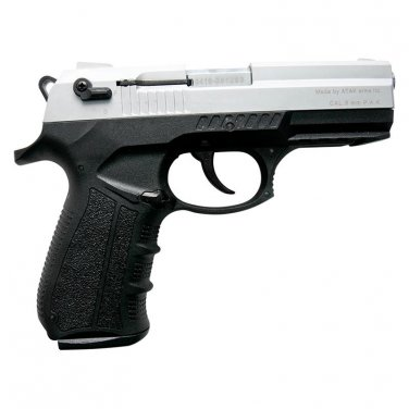 Stalker 2918 Silver Finish - 9mm Blank Firing Replica Zoraki Gun