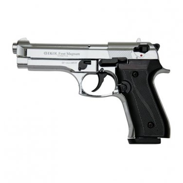 V92F Chrome Finish - Blank Firing Replica Gun