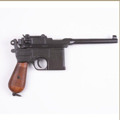 WWII 1896 Mauser Automatic Pistol Non-Firing Replica