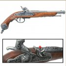 Colonial Italian 1825 Percussion Dueling Flintlock Cap-Firing Replica