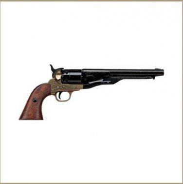 Civil War M1860 Brass Finish Pistol - Non-Firing Replica
