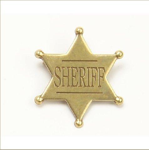 Old West Replica Denix Six Point Ball Tip Star Badge
