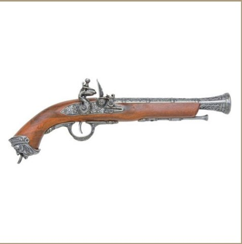 Pirate Replica Flintlock Non-Firing Replica