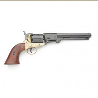 Civil War Replica Griswold & Gunnison Brass Frame Confederate Pistol Non-Firing Gun