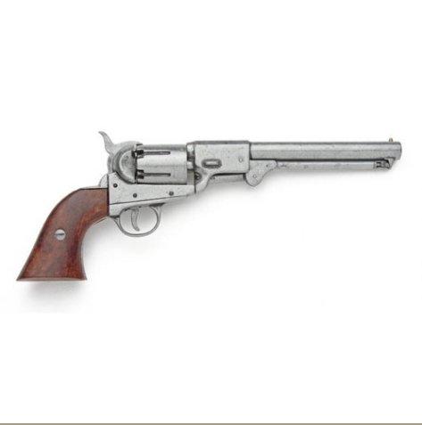 Civil War Replica Griswold & Gunnison Confederate Antique Grey Finish Pistol Non-Firing Gun