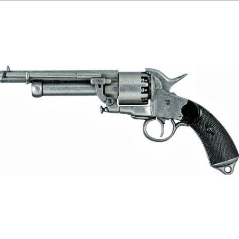Civil War Replica Confederate Le Mat Pistol Non-Firing Gun