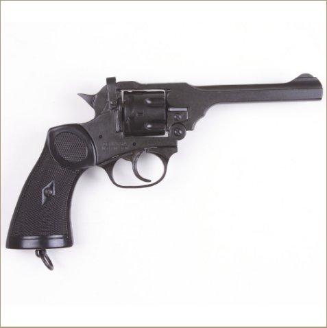 Non-Firing Replica Webley Revolver