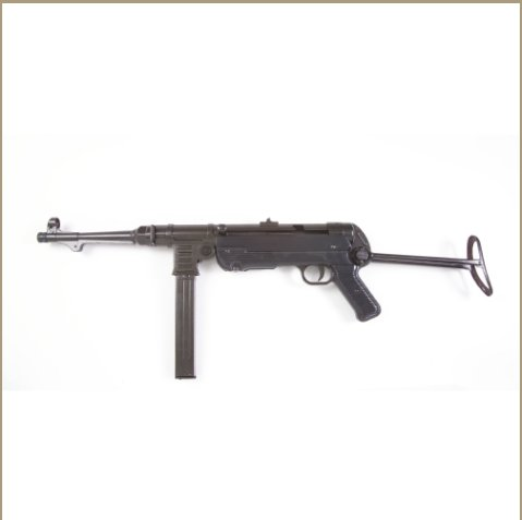 Non-Firing Replica German WWII Submachine Gun